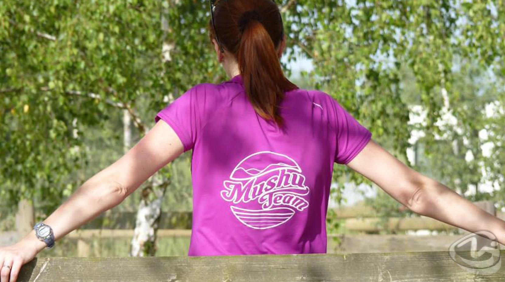 Logo Mushu Team sur tshirt