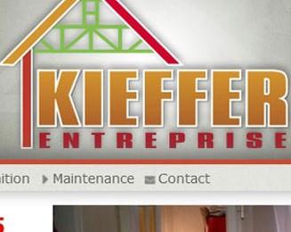 Site Internet Kieffer Entreprise