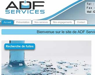 Site internet ADF services