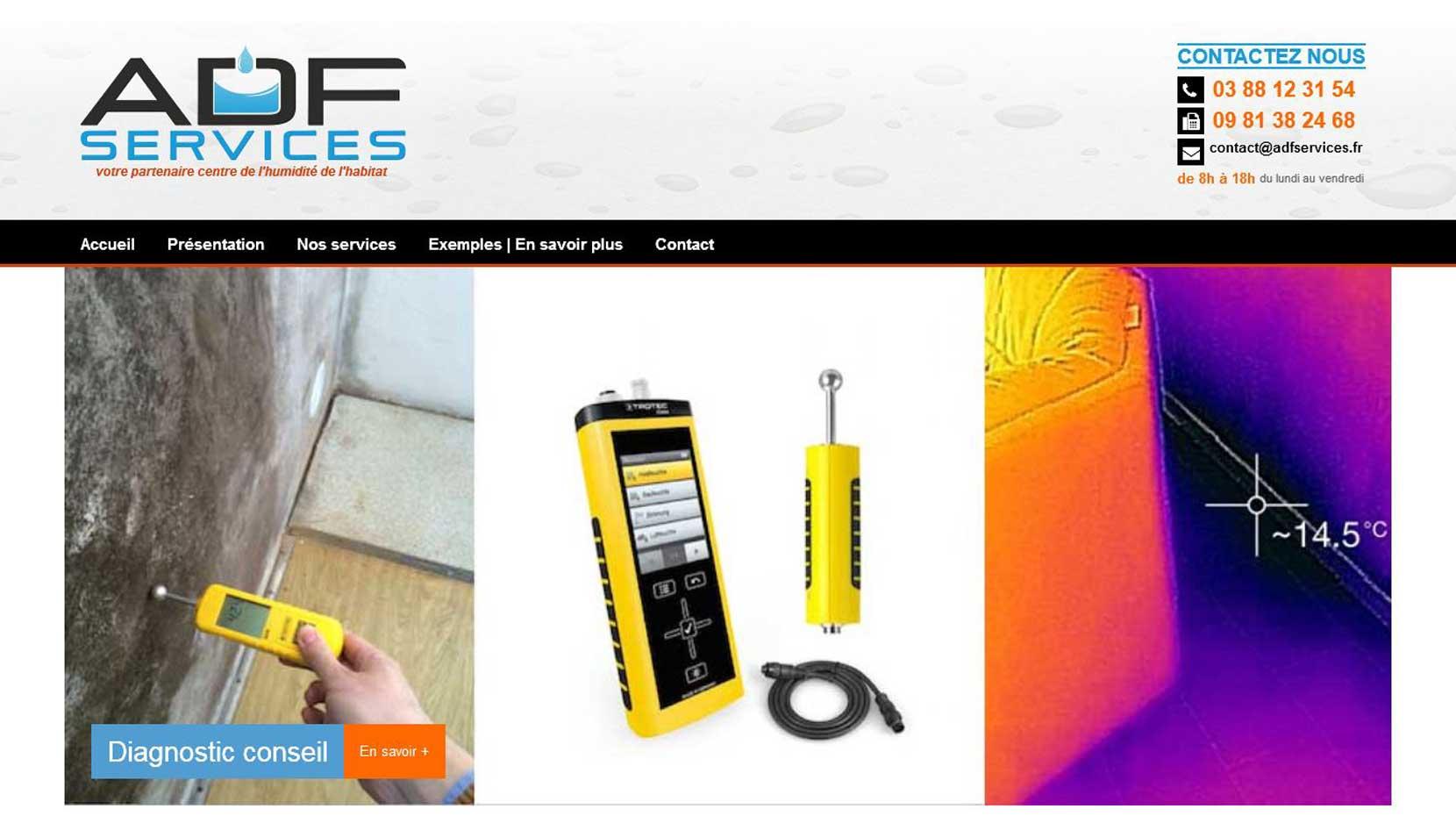 Site internet ADF services V2.0