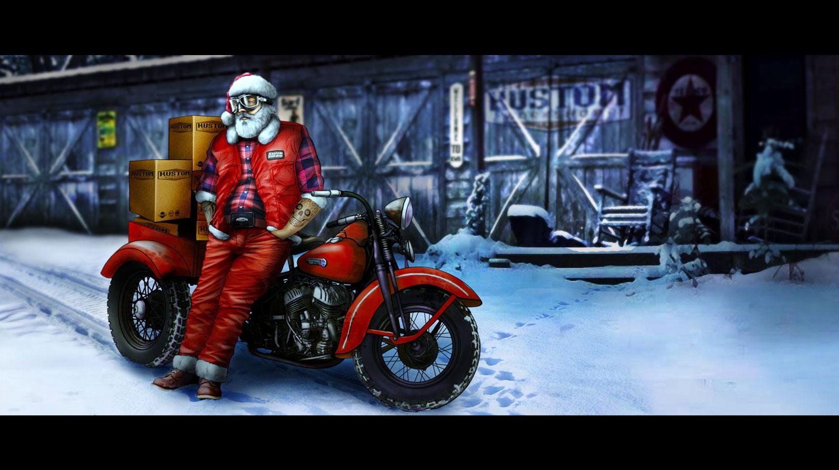 KWS Santa Claus illustration